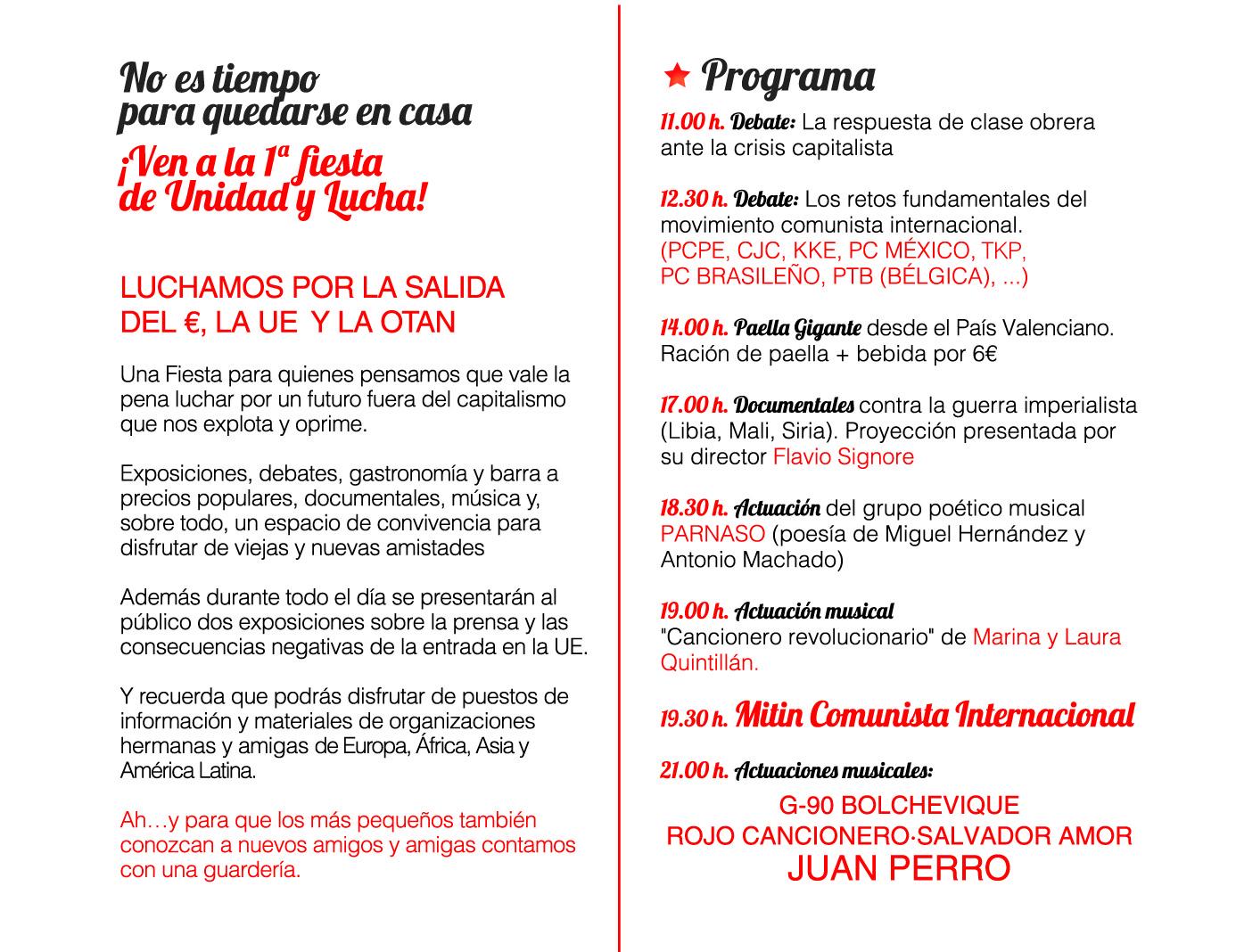 [PCPE-CJC ] 1º Fiesta Unidad y Lucha, 2 de noviembre Vallecas, Madrid. Imagen%20web-05-05