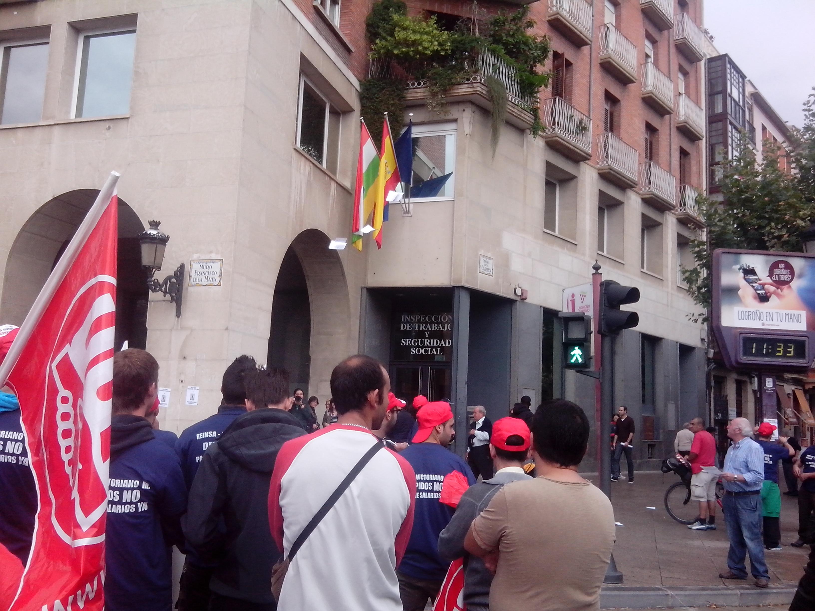 Las plantillas de Teinsa y Victoriano Martínez vuelven a la calle